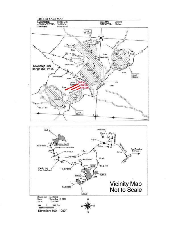 Sadie Creek Proposed Shooting Range Research