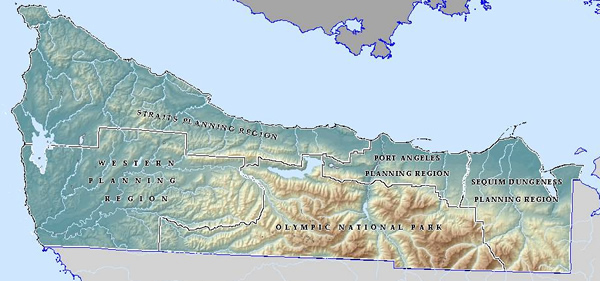 Image of Clallam County Regions